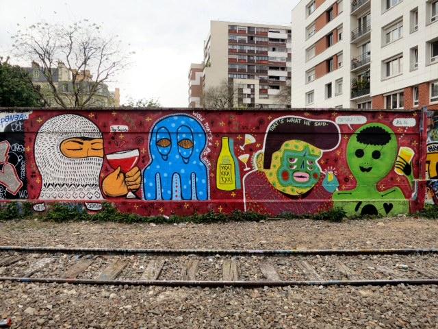 Paris - Granillo, Creeptopus,Kasink, Koleo