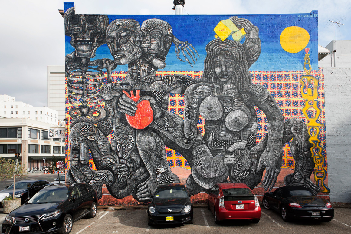 2014 large scale murals in sf bay area street art sf for Call for mural artists 2014