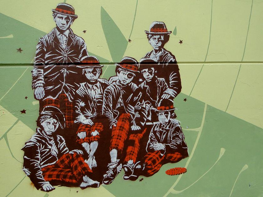 Shine Stencil shown in the second video